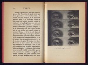 Trecho da obra de André Breton. Reprodução