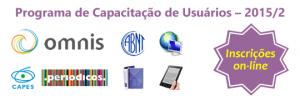 Banner do Programa de Capacitação de Usuários – 2015/1