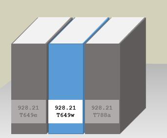 Biblioteca-Central-PUCRS-Como-localizar-materiais-nas-estantes-etiquetas-de-lombada