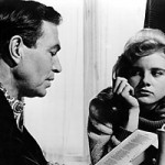 Cena do filme Lolita com Humbert Humbert