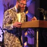 Kenneth Goldsmith em apresentação na Casa Branca