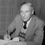 Burroughs em 1977, 20 anos antes de sua morte