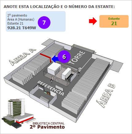 Biblioteca-Central-PUCRS-Como-localizar-materiais-nas-estantes-mapa-3d