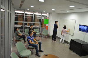 Foto da nova sala da Biblioteca Central da PUCRS. Foto: Biblioteca Central/PUCRS