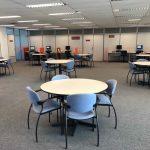 Espaço para atividades acadêmicas